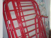 Have 4-sale Very Good Condition Day Bed/Bunk Bed. Red