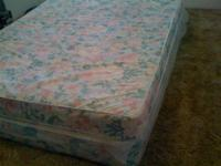 1.Mattress & Box spring in good condition..want to sell