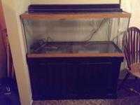 I have a 75 gallon fish aquarium for sale with air