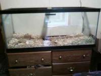 75 gallon glass aquarium good for fish, reptiles,