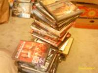 I have about 75 movie DVDs in their original cases for