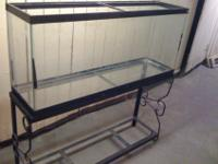 Up forsale is a 45 Gallon (long) Fish tank/Aquarium in