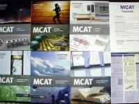 A complete set of 2011 Kaplan MCAT review prep books!
