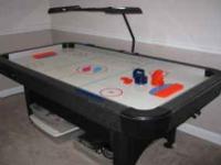 Sportcraft Turbo Black Light Air Hockey TableThis table