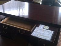 I am currently selling a very nice used desk. This desk