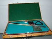 For Sale - Portable Pool Table This is a small size