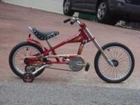 We have a lightly used, exceptional condition Schwinn