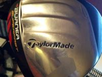 The Taylor Made Burner SuperFast driver creates