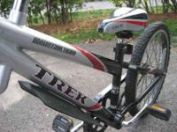 Trek Tag along trailer bike attaches with a swivel