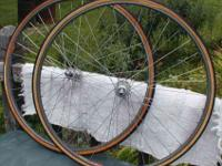 Early 1980's wheels, these are 36 spoke wheels,