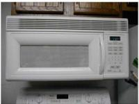 white #MH7130XEQ Over the range microwave $75;