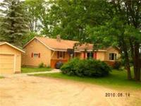 12 miles South of Park Rapids- Small country home for