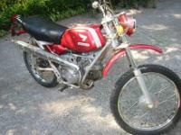 Honda SL90 in good complete condition. Purchased 5