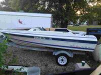 "1987 Capri Bayliner Boat14"" Bayliner Capri boat with 50"