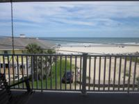 Beautiful ocean and pier see from the front deck of