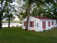 Our 2 room cottage is found 80 feet from the water on
