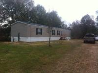 3 bed 2 bath 16x80 mobile home $750 month $500 deposit.