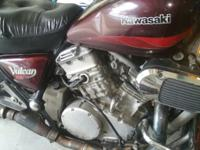 This 750 kawasaki was abandoned at my home half a year