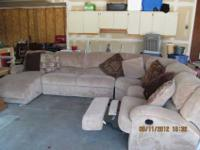 New sectional bought in 2008, but stored in secure