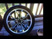 "Well taken care of 18"" Forte Tweaker Rims"