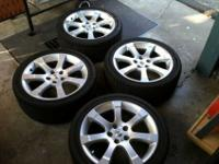 These are factory Nissan wheels that were standard on