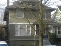 This is a large home on the North end of Capitol Hill.