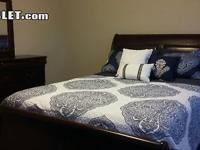 Large furnished bedroom in a new Townhouse off of Page