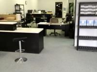 Shared office space with a local technologies company,