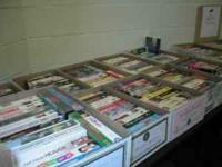 Donations keep pouring in to the Books Sale, run by the