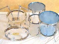 I have a vintage custom set of Acrylic Drums made by