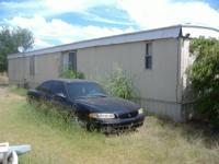 1982 fairway 14x72 mobile home, nice inside, has metal