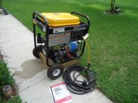 CHICAGO 7500 W GENERATOR WITH ELECTRIC START ALSO COMES