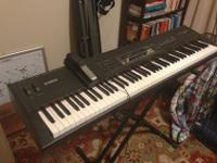 Mint condition, barely used, but loved Yamaha S80
