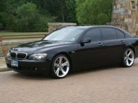 "Crave Luxury Auto This is a 2007 BMW 750iL that""s"