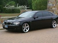 "CRAVE LUXURY AUTO . This is a 2007 BMW 750iL that""s"