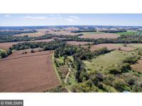 Large private acreage. Wooded rolling hills. Carver