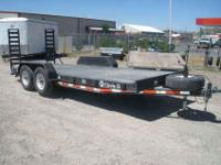 4103 2010 Circle D Bumper Pull Equipment trailer. 75.00