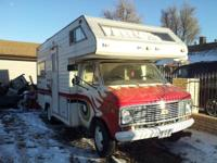 Hi am selling 75 chevy motorhome its in good conditions