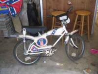 1976 Evel Knievel bicycle. All original, good shape.
