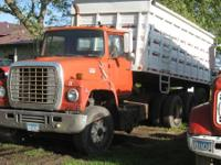 For sale: 1976 Ford 9000 tri-axle tag tandem truck.
