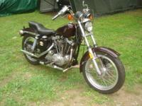 1976 Harley sportster 1000 This bike has been