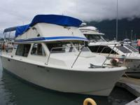  26' long x 10' wide with heated cabin; sleeps