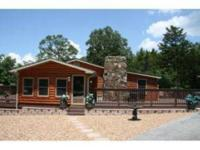 Log Sided Home & Lake access across street!3BR/2BA