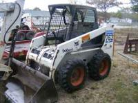763 Bobcat with a V2203 Diesel, 46 HP, Hand and Foot