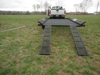 New 2012 in stock 4-Wheeler Trailer with MSO comes