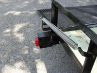 2014 76x12 Utility Trailer is a light weight (980lb)