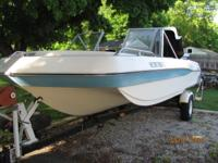 chrysler 18' open bow tri hull 130B six cylinder, 280