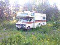 66xxx miles. 400 engine 727 trans. Missing radiator &