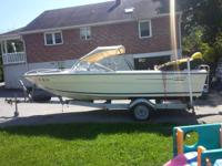 1977 galaxy bow rider 19.5 ft.1978 merc 175.motor is