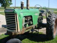 770 Oliver Tractor sold new in 1959 great running